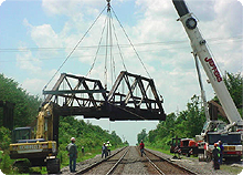 RAILROAD BRIDGE REPAIR